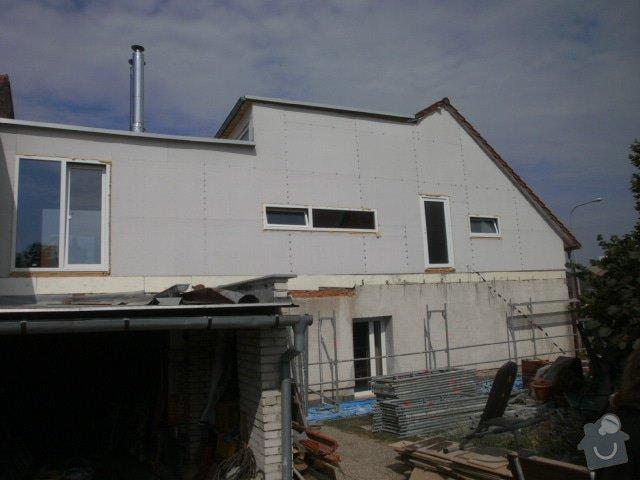 Zateplení fasády cca 250 m2: P7251327