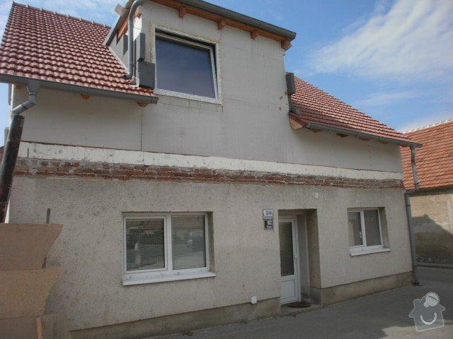 Zateplení fasády cca 250 m2: P7251328