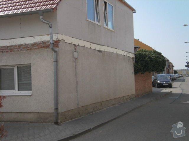 Zateplení fasády cca 250 m2: P7251330