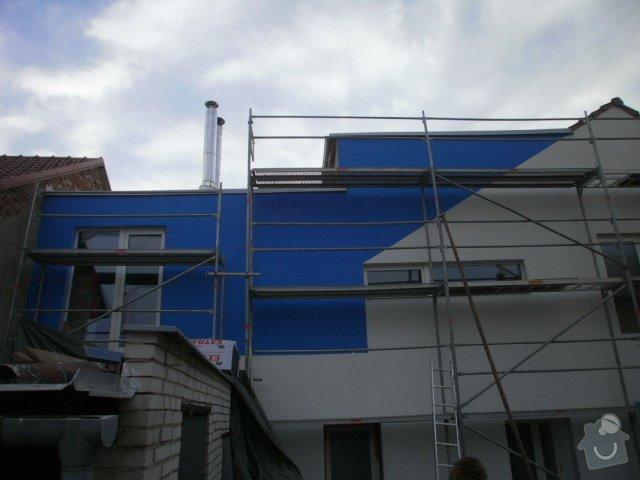 Zateplení fasády cca 250 m2: P8131425