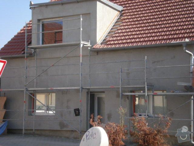 Zateplení fasády cca 250 m2: P8181448