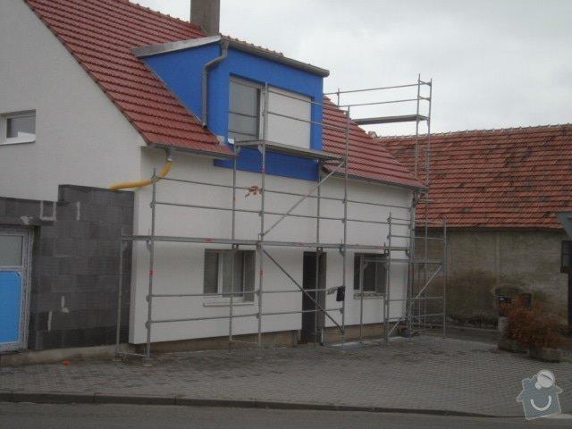Zateplení fasády cca 250 m2: P8261451