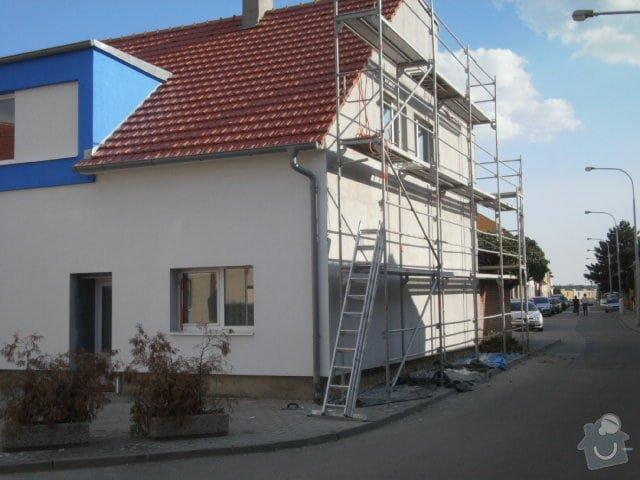 Zateplení fasády cca 250 m2: P8301465