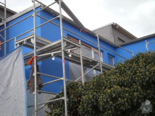 Zateplení fasády cca 250 m2: P9121484