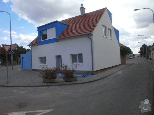Zateplení fasády cca 250 m2: P9191509