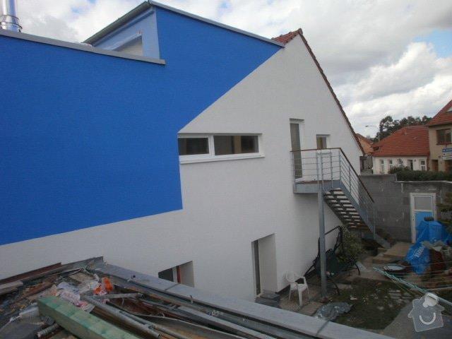Zateplení fasády cca 250 m2: P9191511