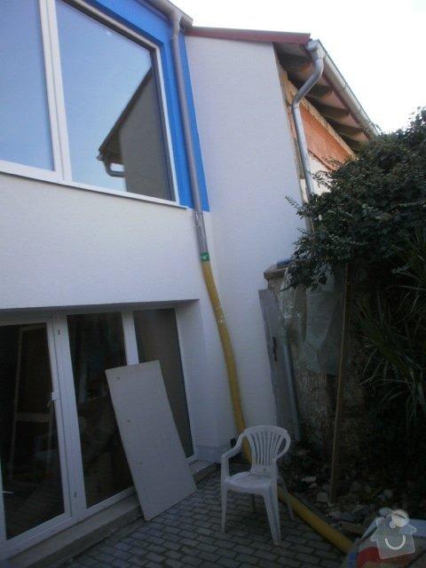 Zateplení fasády cca 250 m2: P9221516