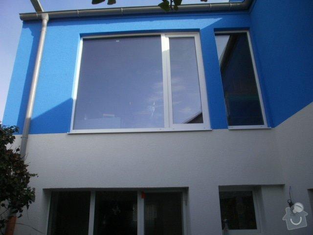 Zateplení fasády cca 250 m2: P9221517