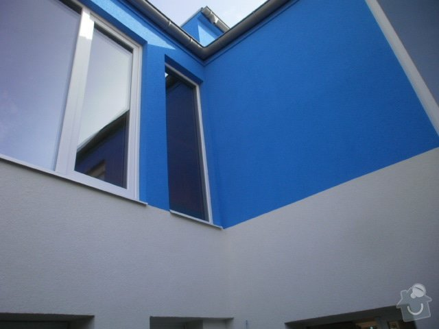 Zateplení fasády cca 250 m2: P9221518