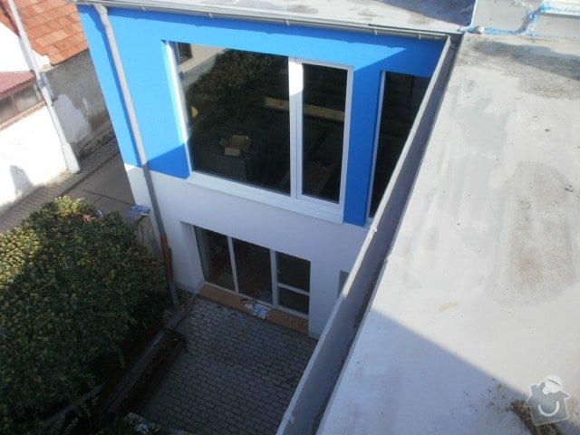 Zateplení fasády cca 250 m2: P9221519