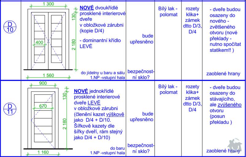 Výroba interiérových dveří: Dvere_10a11