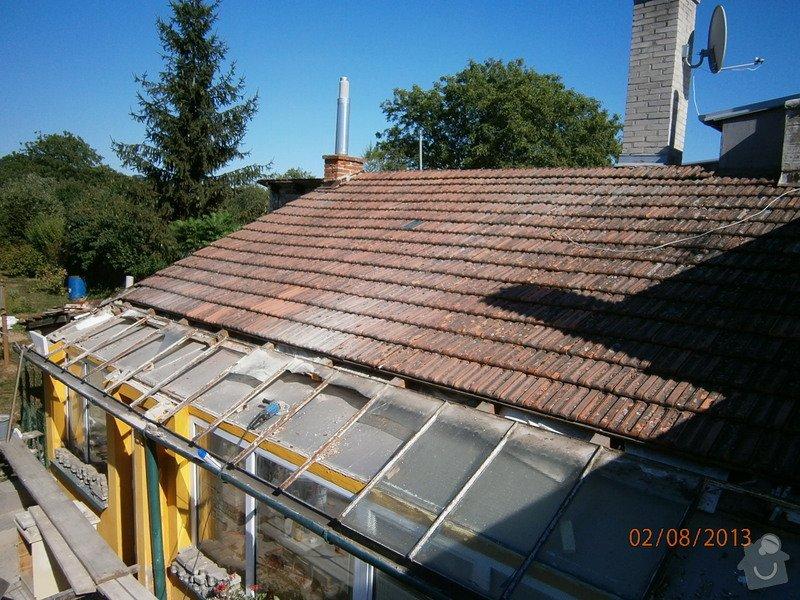 Rekonstrukce stávající střechy vč.její zateplení foukanou izolací CLIMATIZER PLUS: Snimek_4152