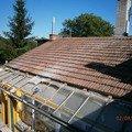 Rekonstrukce stavajici strechy vc jeji zatepleni foukanou izo snimek 4152