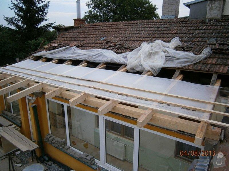 Rekonstrukce stávající střechy vč.její zateplení foukanou izolací CLIMATIZER PLUS: Snimek_4156