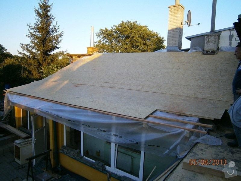 Rekonstrukce stávající střechy vč.její zateplení foukanou izolací CLIMATIZER PLUS: Snimek_4163