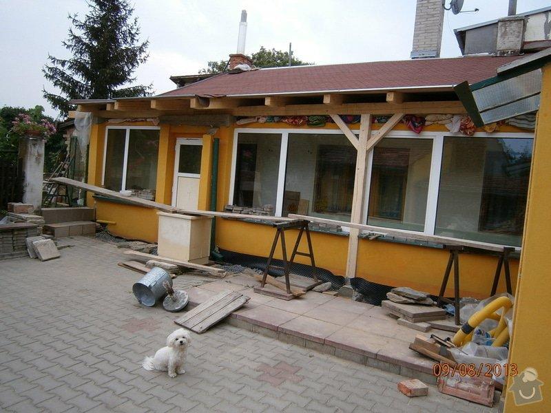 Rekonstrukce stávající střechy vč.její zateplení foukanou izolací CLIMATIZER PLUS: Snimek_4169