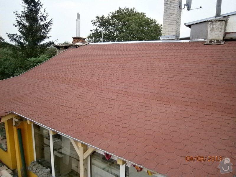 Rekonstrukce stávající střechy vč.její zateplení foukanou izolací CLIMATIZER PLUS: Snimek_4175
