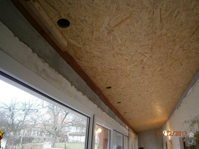 Rekonstrukce stávající střechy vč.její zateplení foukanou izolací CLIMATIZER PLUS: Snimek_4183