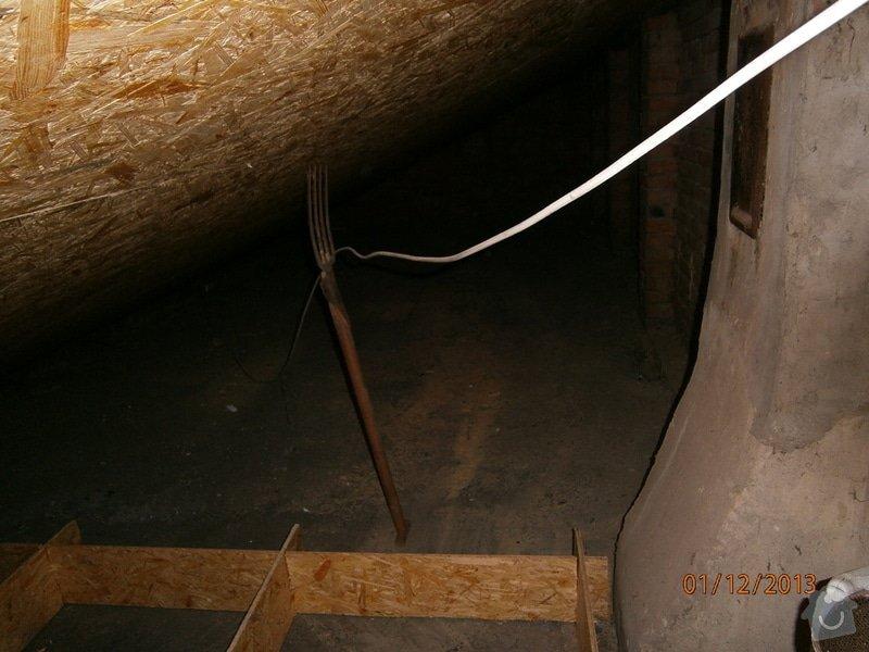 Rekonstrukce stávající střechy vč.její zateplení foukanou izolací CLIMATIZER PLUS: Snimek_4176