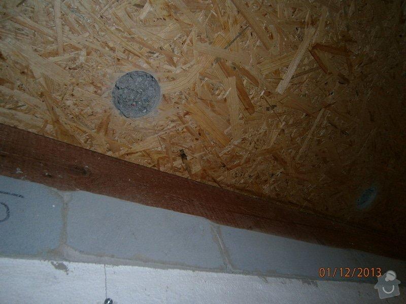 Rekonstrukce stávající střechy vč.její zateplení foukanou izolací CLIMATIZER PLUS: Snimek_4186