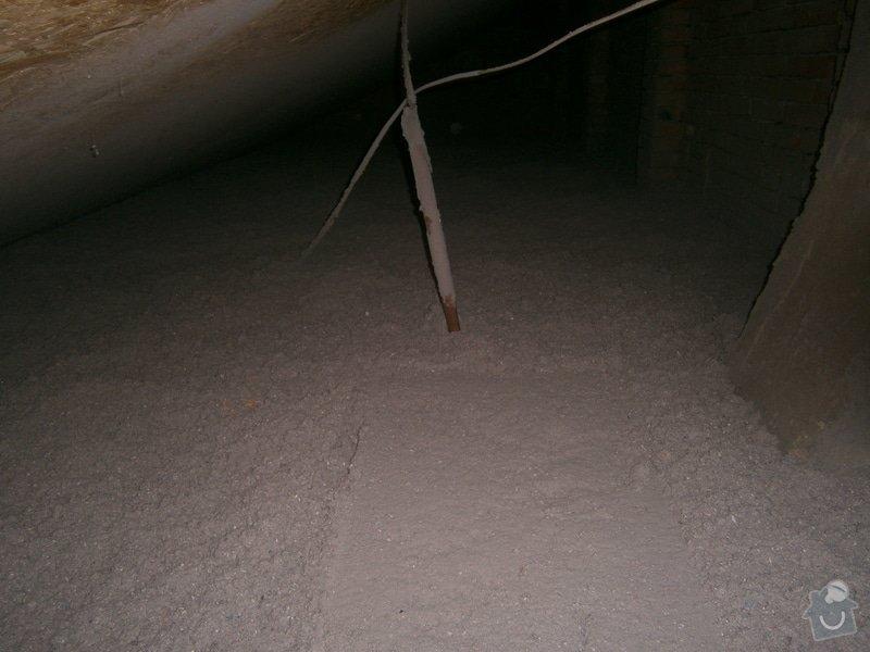 Rekonstrukce stávající střechy vč.její zateplení foukanou izolací CLIMATIZER PLUS: Snimek_4187
