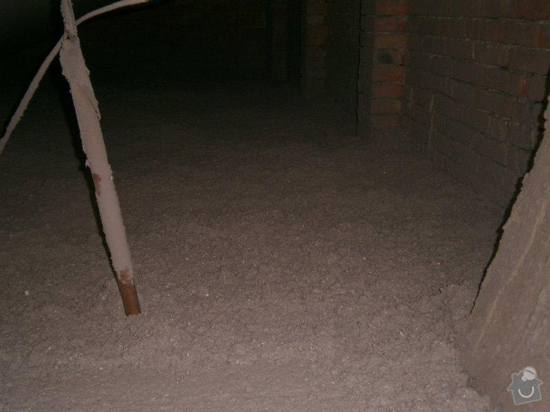 Rekonstrukce stávající střechy vč.její zateplení foukanou izolací CLIMATIZER PLUS: Snimek_4191