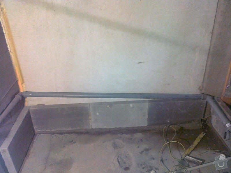 Vyzdění koupelny + usazení vany: 171220131256