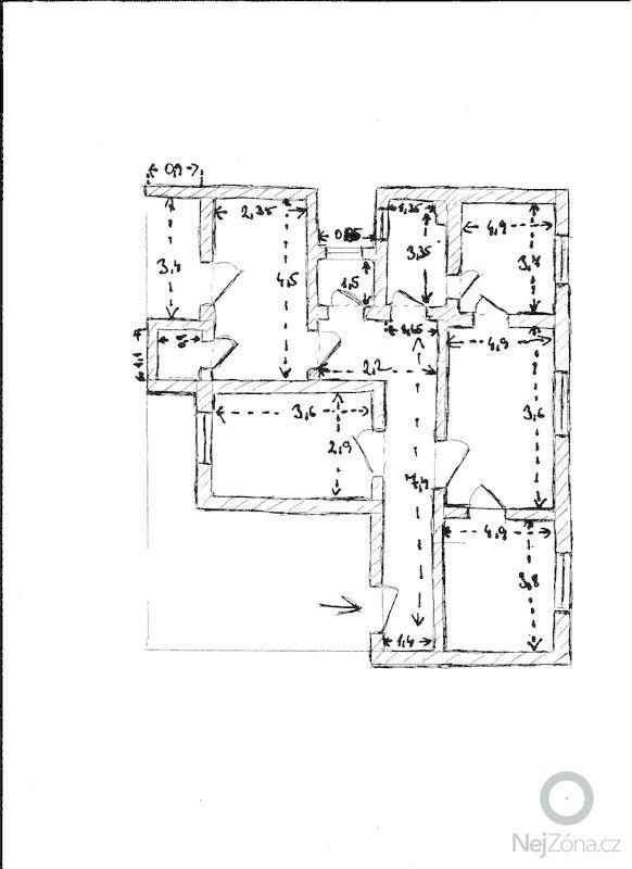 Poptávka na topenářské práce: plan_bytu