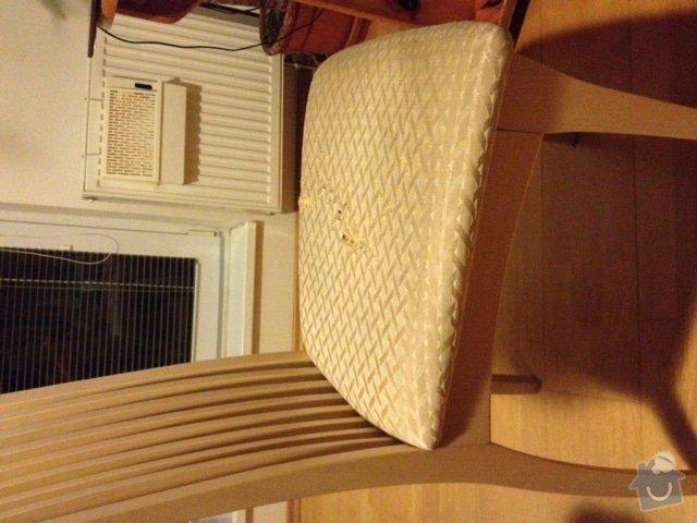 Přečalounění 1 židle: zidel_1