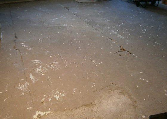 Oprava betonové podlahy