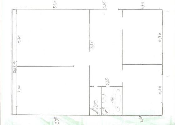 Rekonstrukce bytového jádra v bytě 3+1