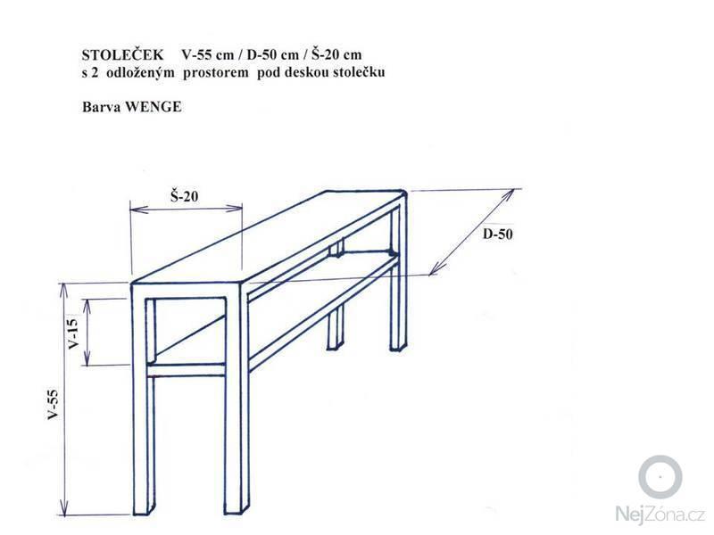 Výroba odkládacího stolku: Snimek1