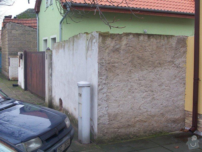 Stavba plotu a vjezdové brány: 100_2158
