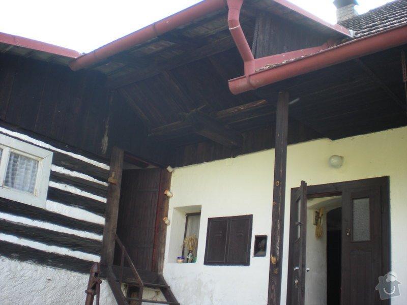 Projekt a rekonstrukci chalupy: Chalupa_016