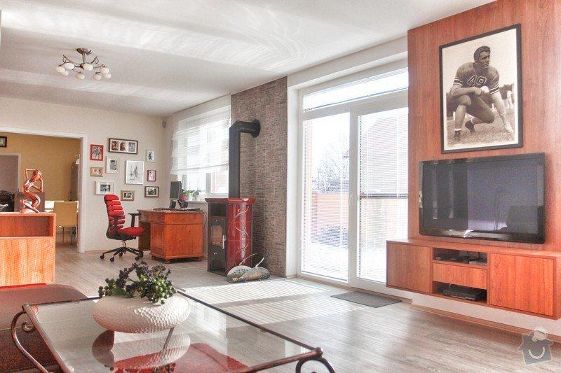 Návrh a realizace obývacího pokoje + home office: 3