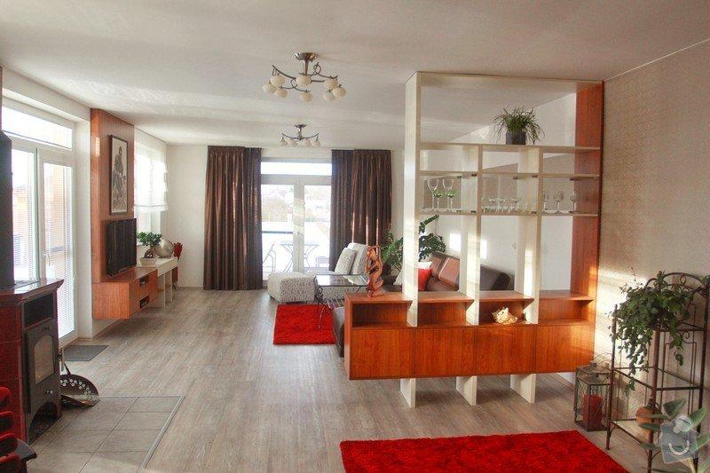 Návrh a realizace obývacího pokoje + home office: 4