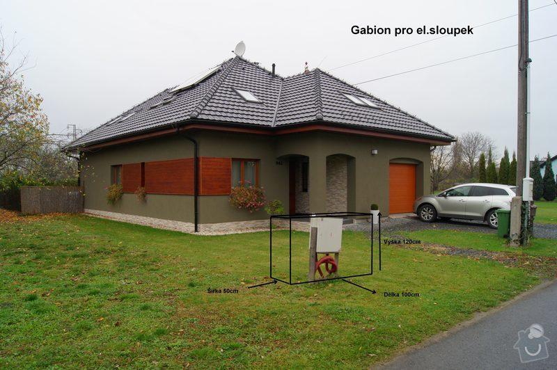 Stavba gabionů: Gab1