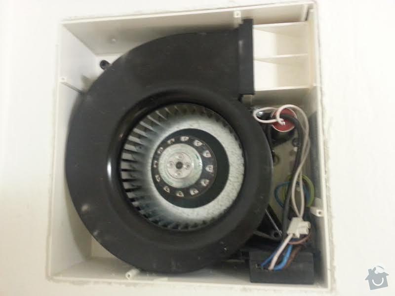 Oprava ventilatoru v koupelne: ventilator