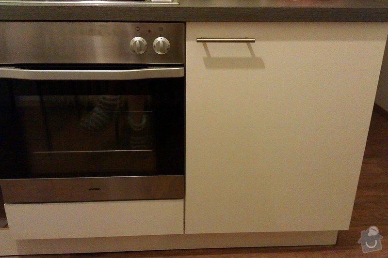 Truhlářská práce - výroba dvířek ke kuchyňské lince: IMAG0098
