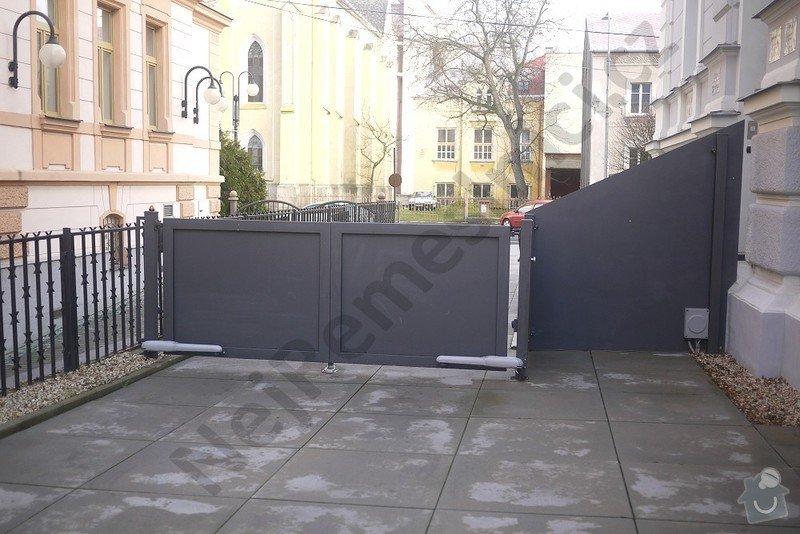 Posuvná a křídlová brána, branka, oplocení: VN02