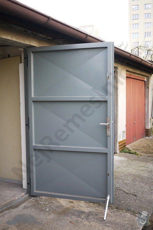Garážová vrata - návrh, dodání, montáž: VN02