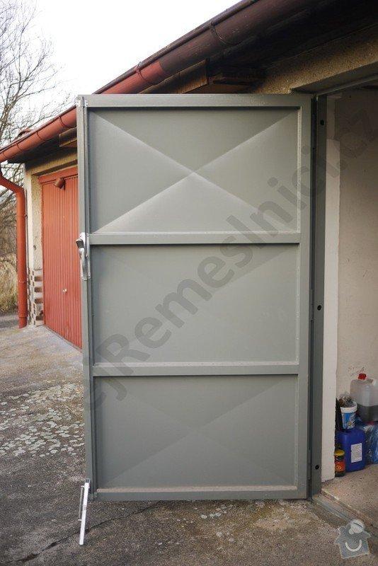 Garážová vrata - návrh, dodání, montáž: VN03