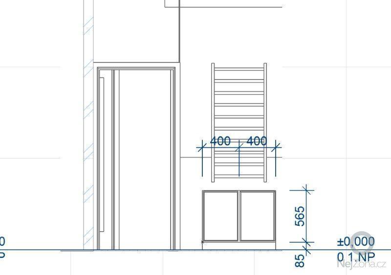 Výroba skříněk do koupelny a polic do sklepa: K03_-_A