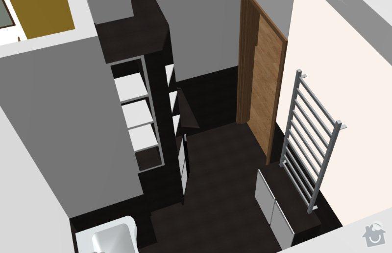 Výroba skříněk do koupelny a polic do sklepa: K08_-_B