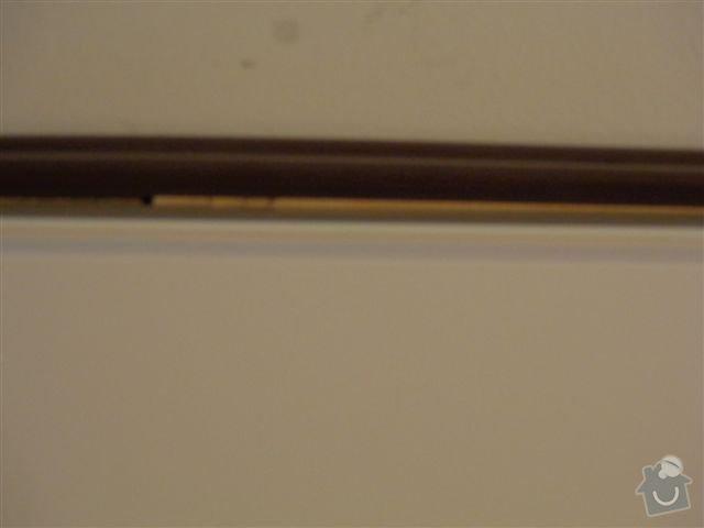 Stropní podhled folie: DSC02659
