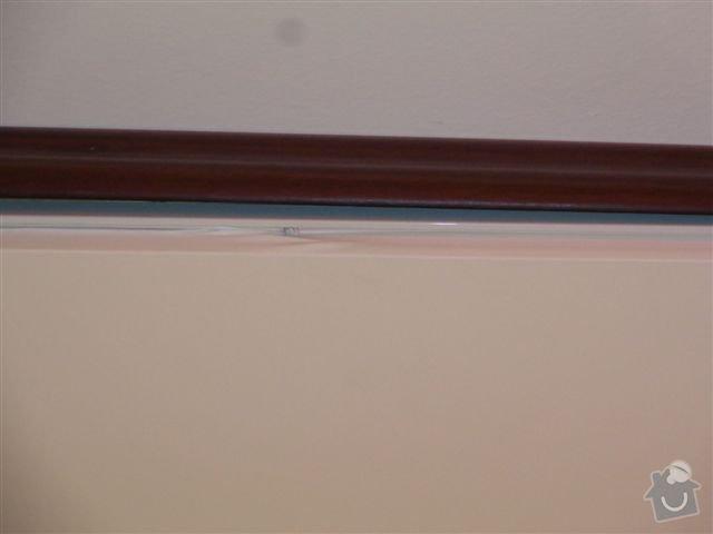 Stropní podhled folie: DSC02664