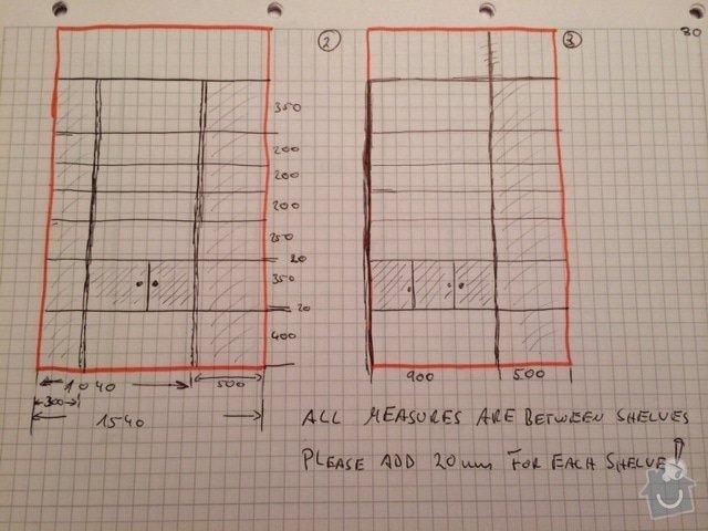Výroba úložného prostoru - spížky: image-2