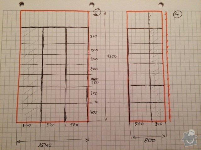 Výroba úložného prostoru - spížky: image