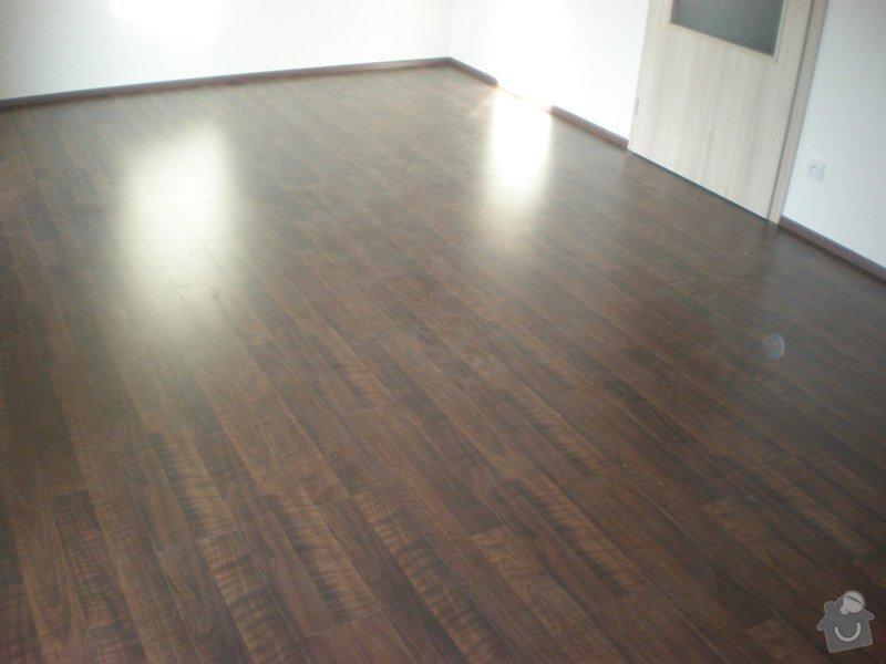 Pokládka plovoucích podlah vč montáže interiérových dveří: Snimek_3708