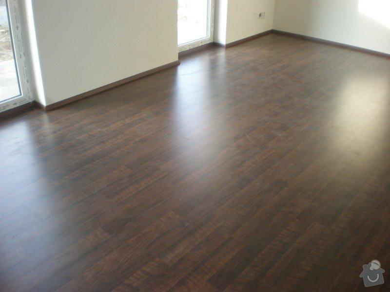 Pokládka plovoucích podlah vč montáže interiérových dveří: Snimek_3709